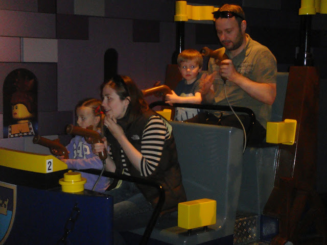 LEGOLAND Discovery Centre - shooting things!