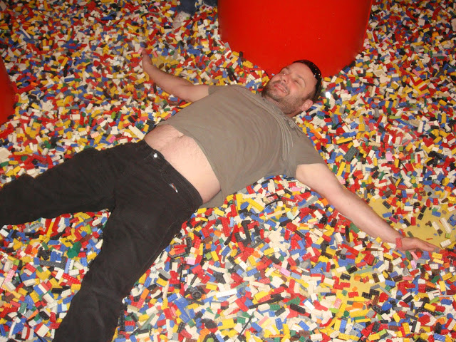 LEGOLAND Discovery Centre - Making LEGO Snow Angels!