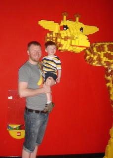Lego giraffe - LEGOLAND Discovery Centre