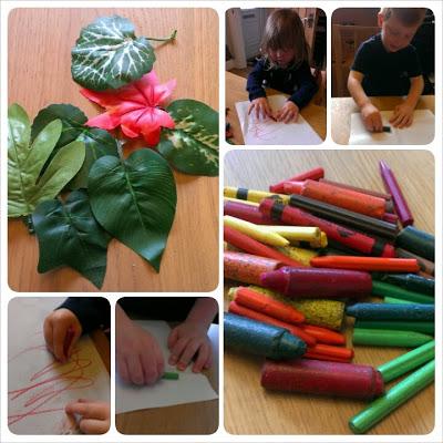 Leaf Rubbing – An Autumn Bucket List Update