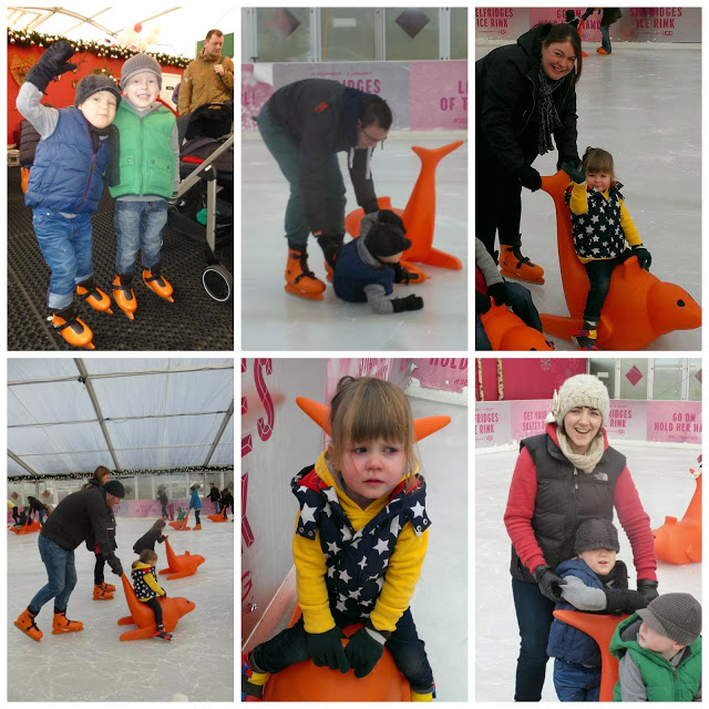 Selfridges Ice Rink – A morning with Peppa Pig and Father Christmas!
