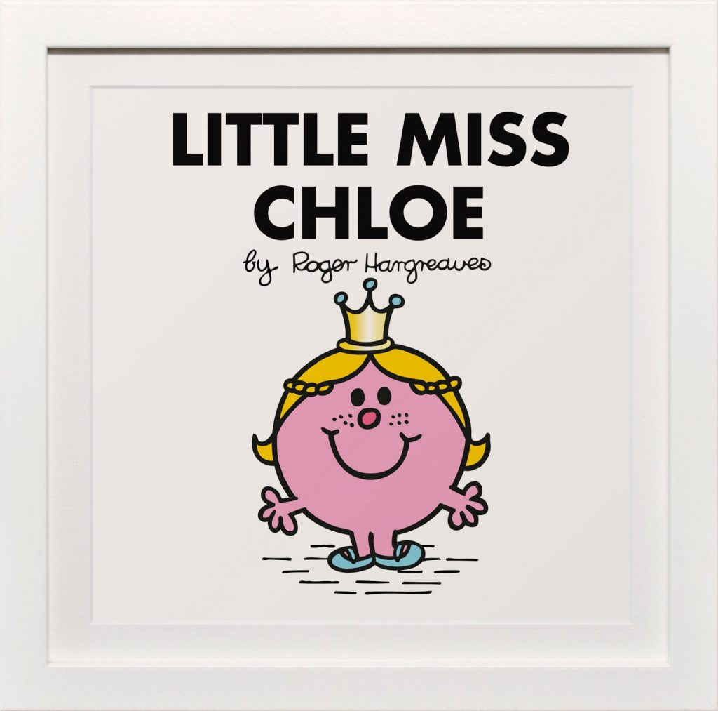 Personalised Little Miss Print