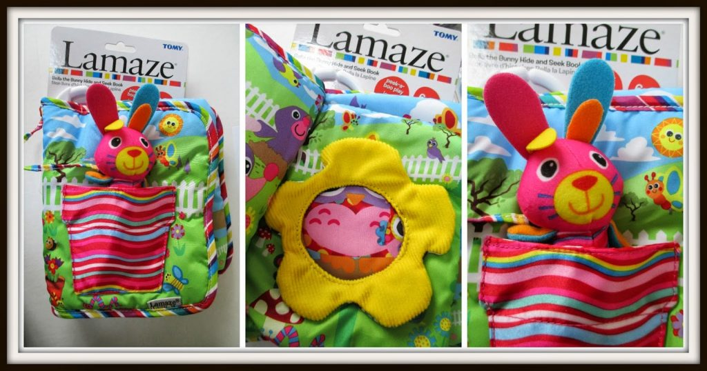 Lamaze Bella the Bunny and Hide & Seek book – Review