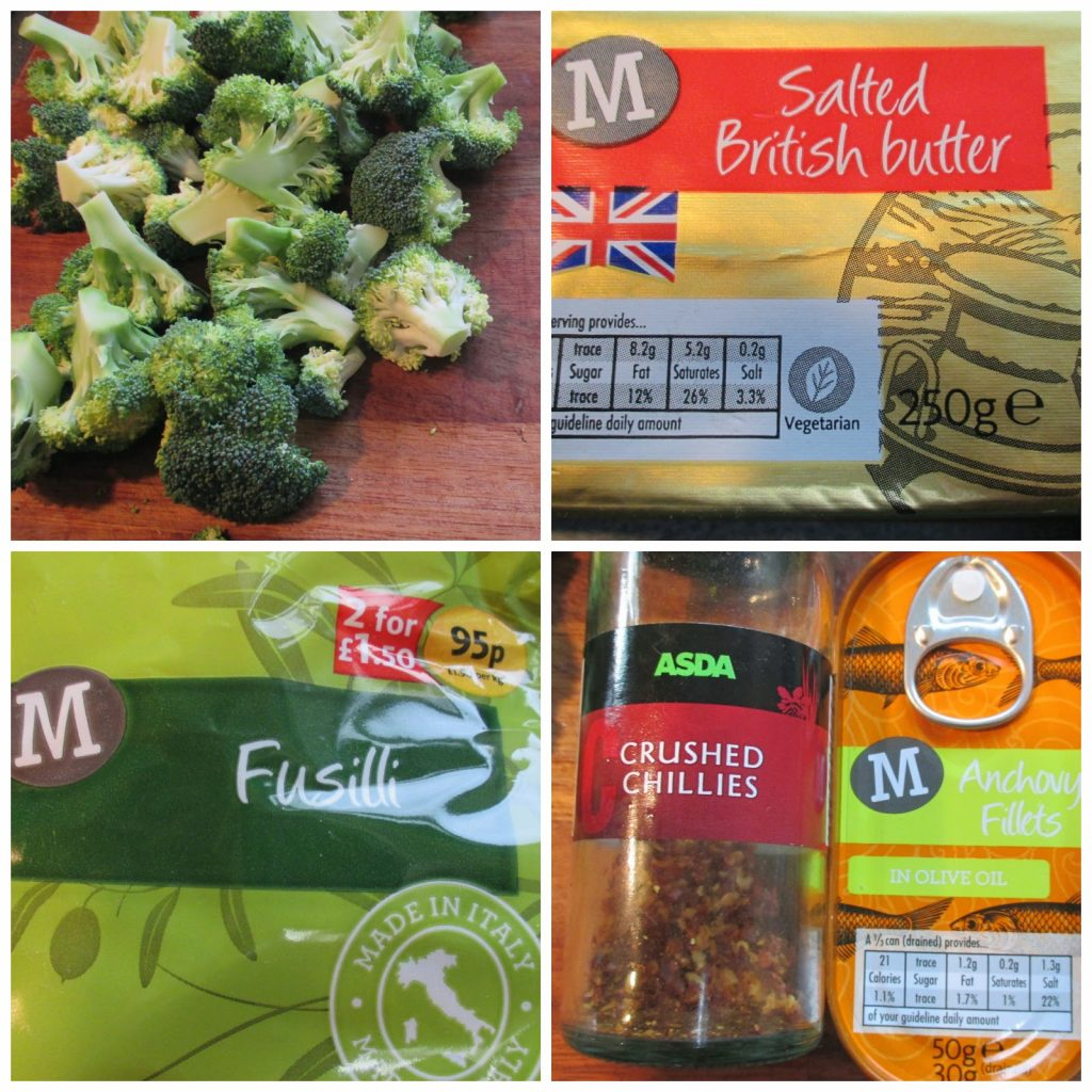 Brocolli & Anchovy Pasta – Blogger Cook Off Challenge