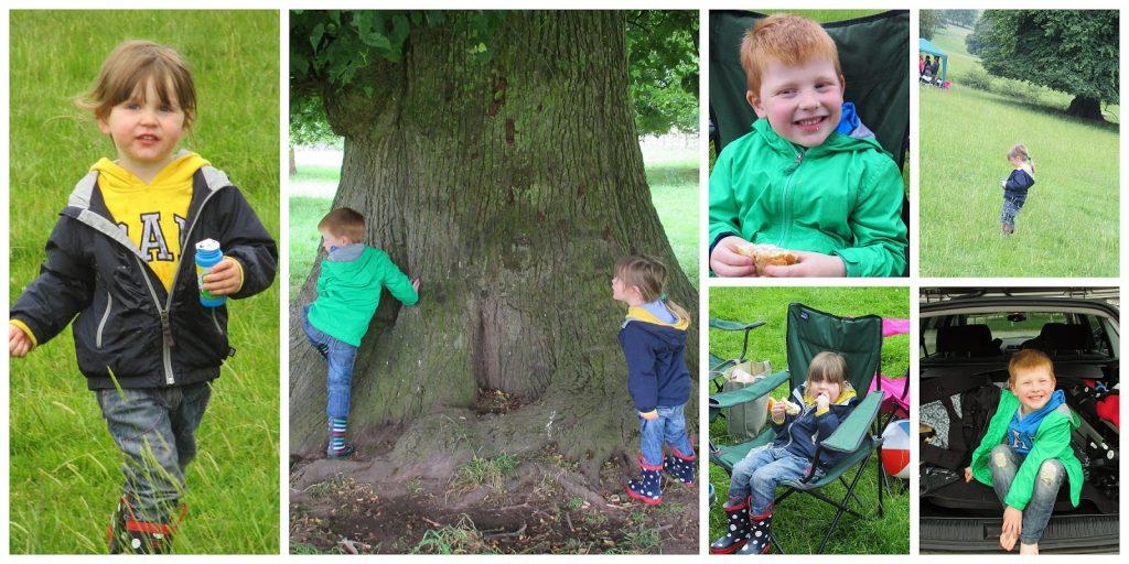 Chatsworth House picnic