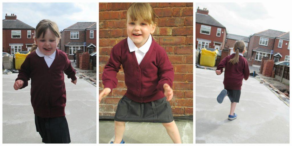 burgundy school cardigan - Trutex School Uniform