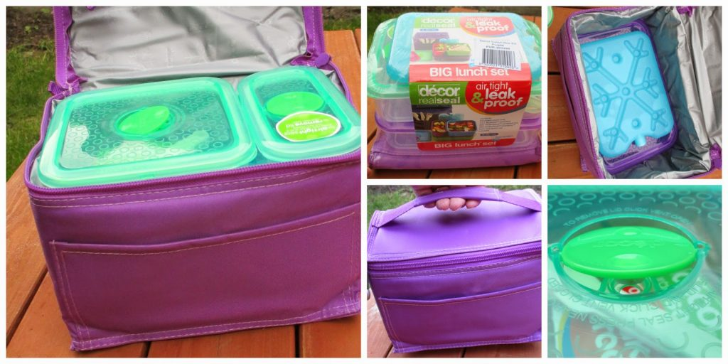 Decor Purple Lunch Box Kit