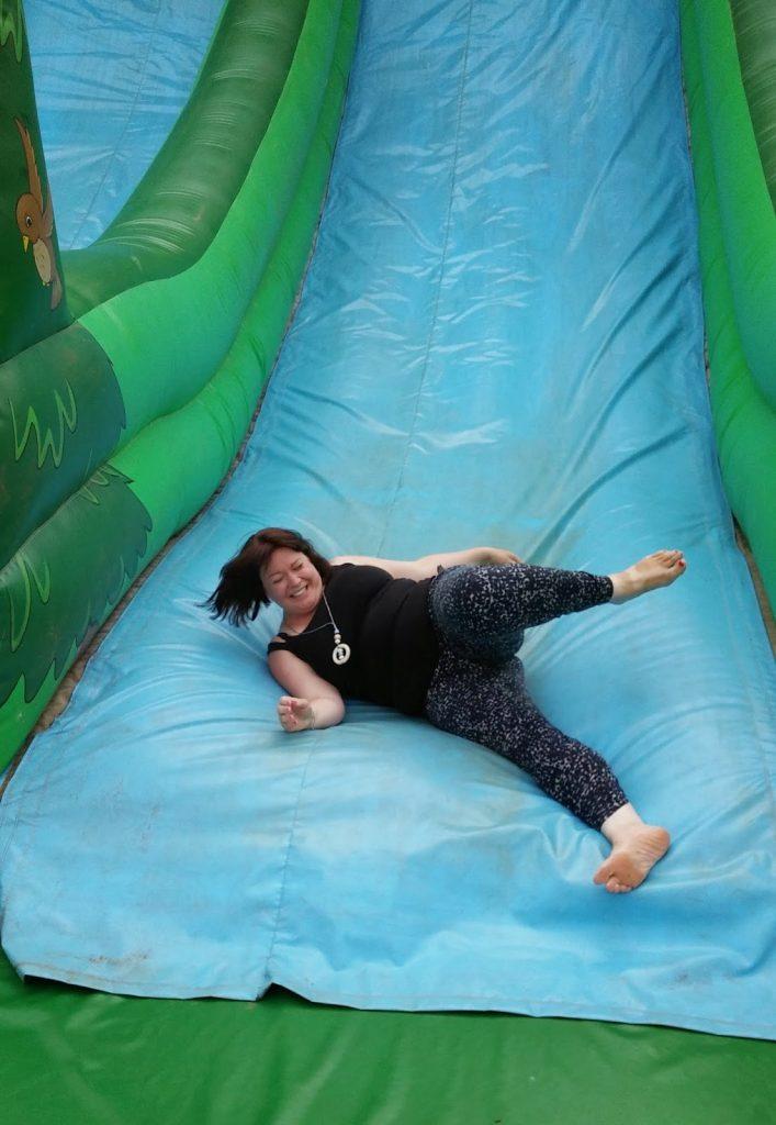 Big slide at stockeld park