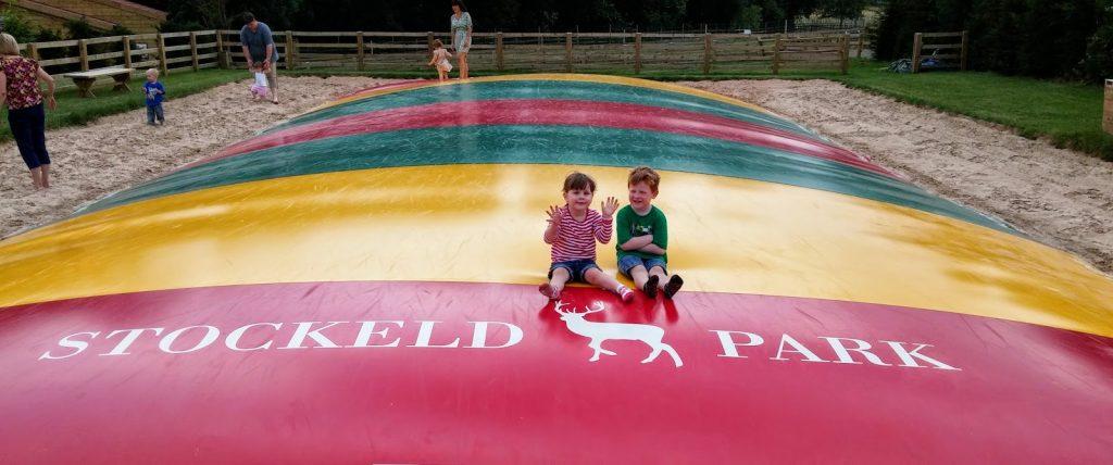 Stockeld Park bouncy pillow
