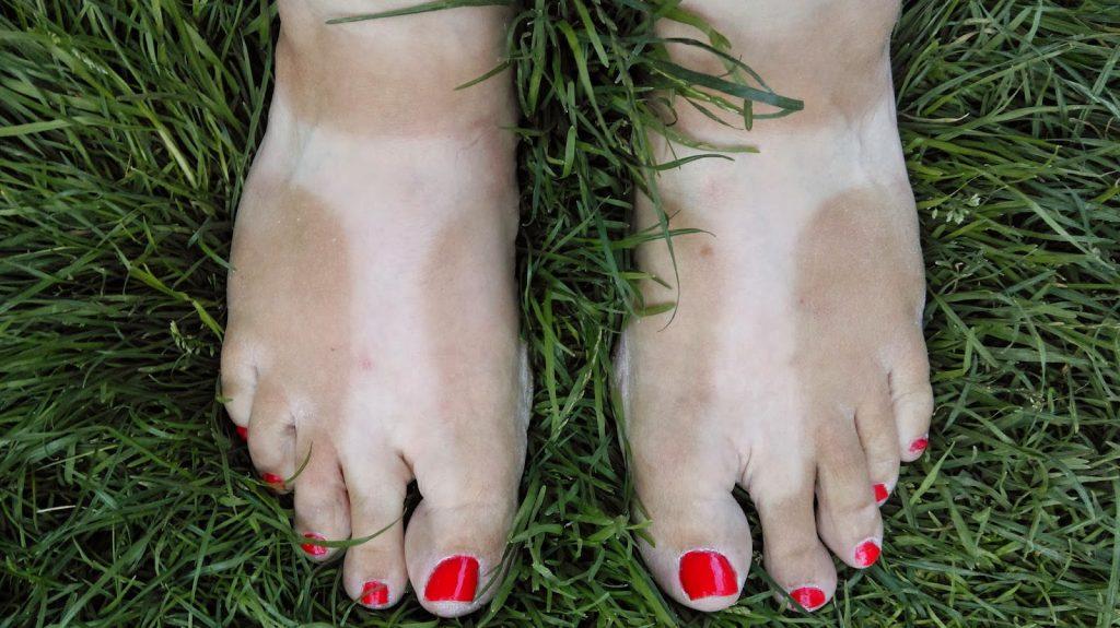 Birkenstock tan lines