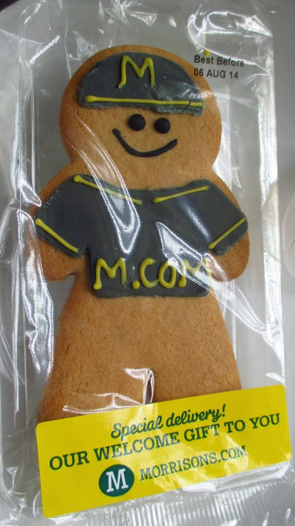 Morrisons Delivery biscuit