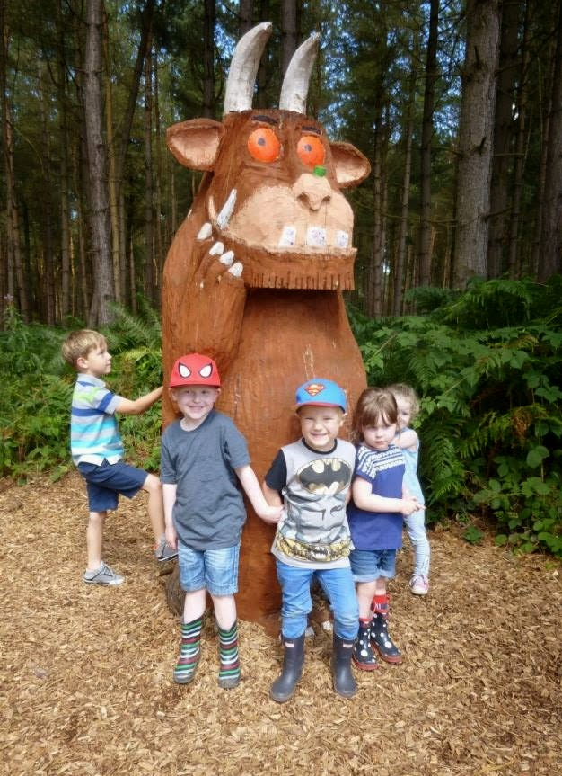 The Gruffalo Trail – Delamere Forest