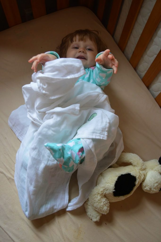 Sew Lomax muslins blanket