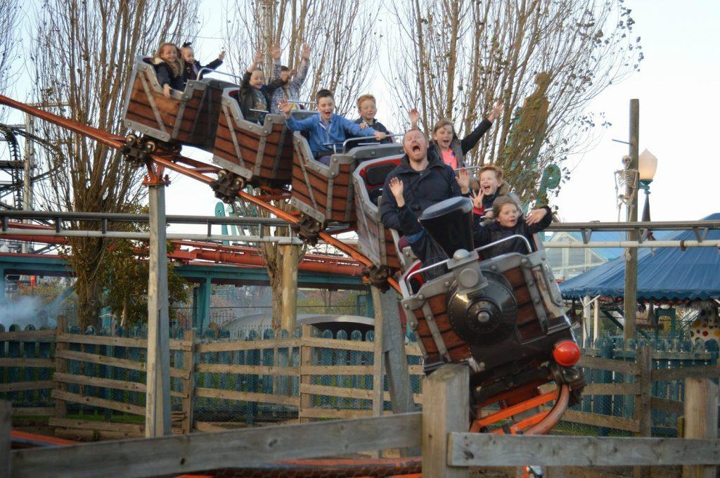 Flamingo Land roller coaster for small children