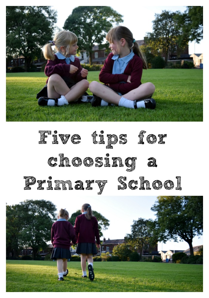 Five top tips for choosing a primary school for your child