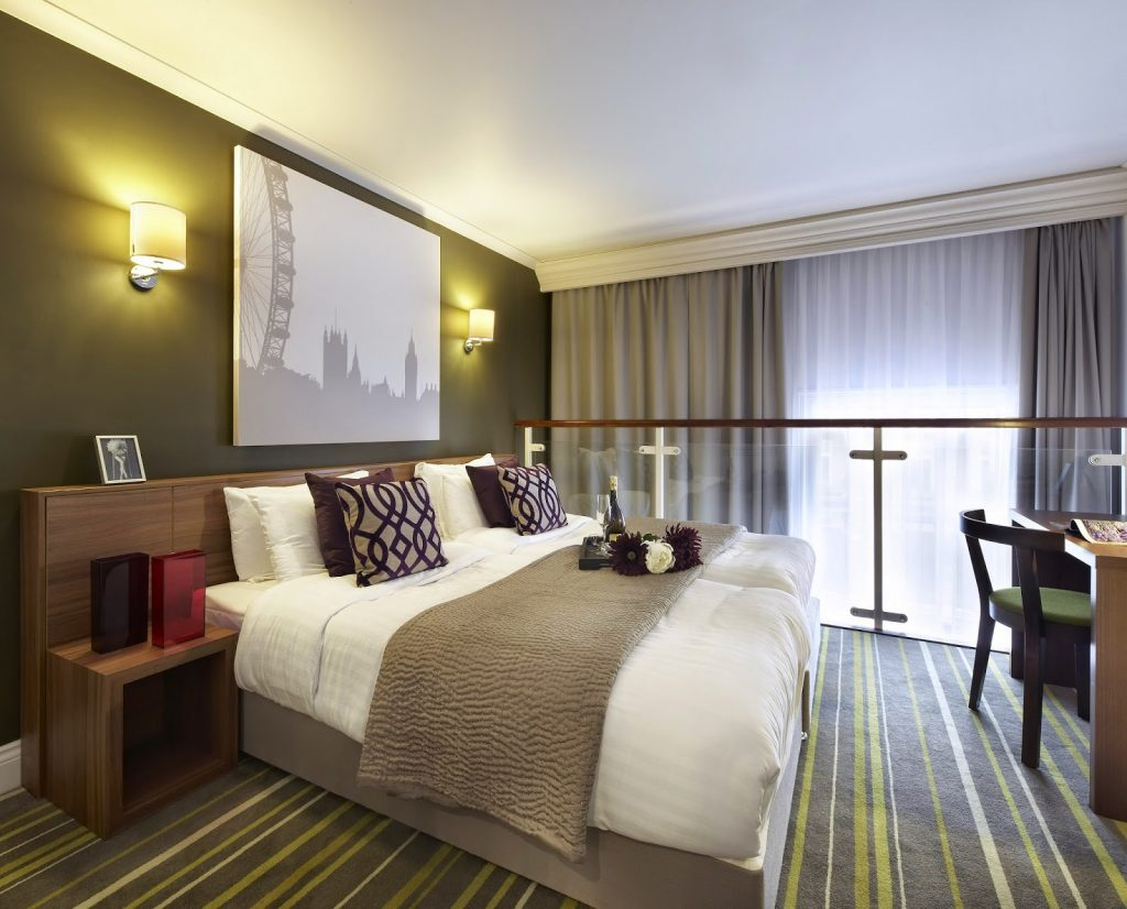 Citadines Apart'hotel - master bedroom