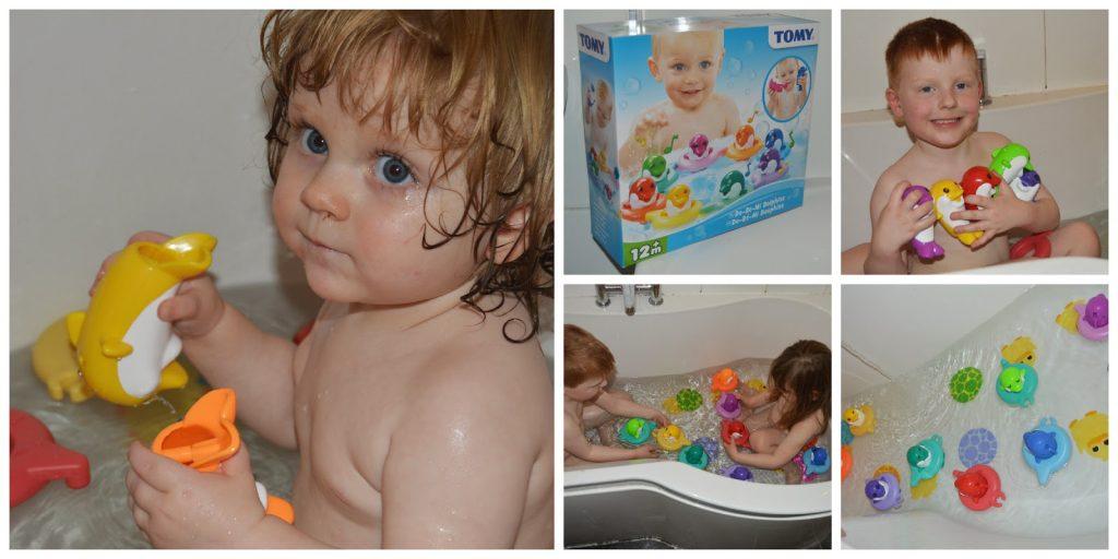 Tomy bath toys