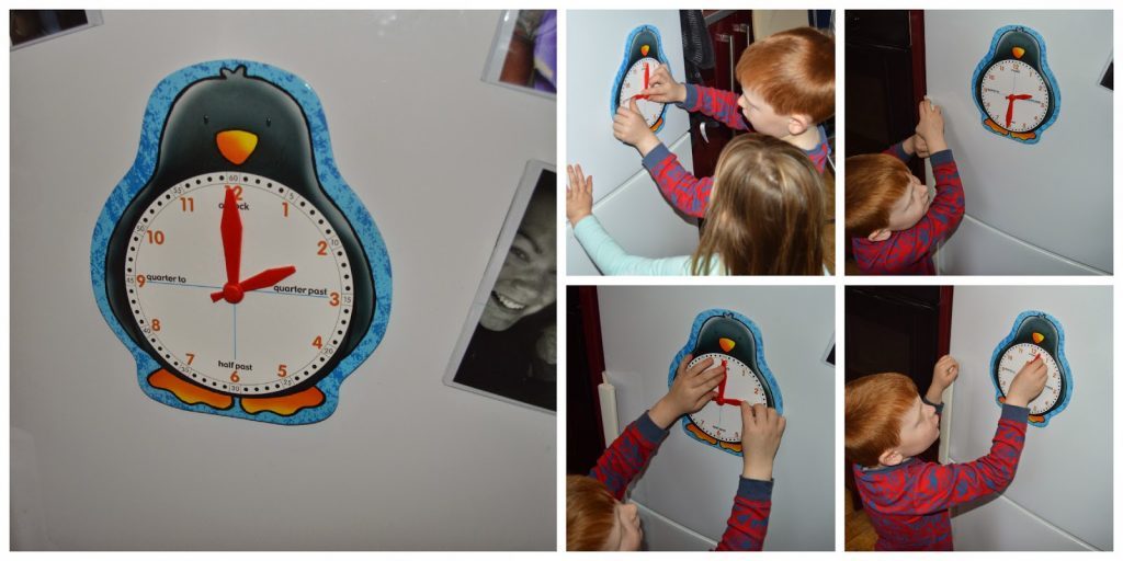 Penguin Clock Face, Orchard Toys – Review
