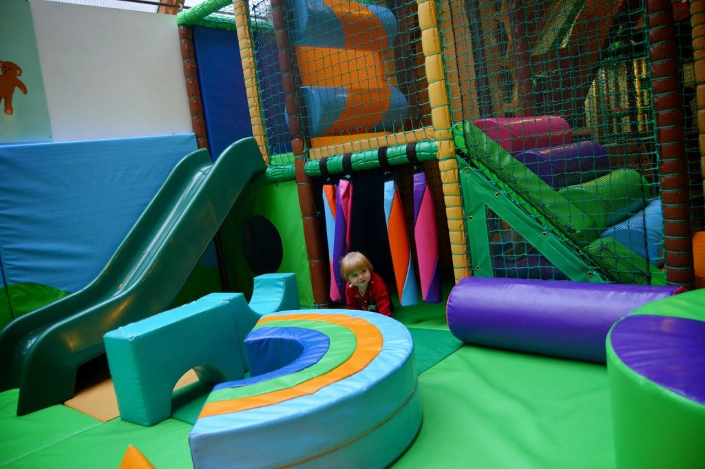 soft play for toddlers at GreenWood Forest Park