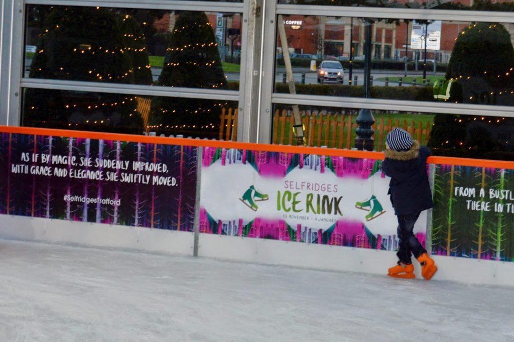 Ice Skating at Selfridges, Trafford Centre