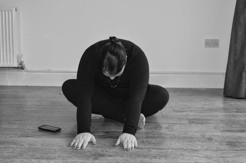 Yoga - bending low