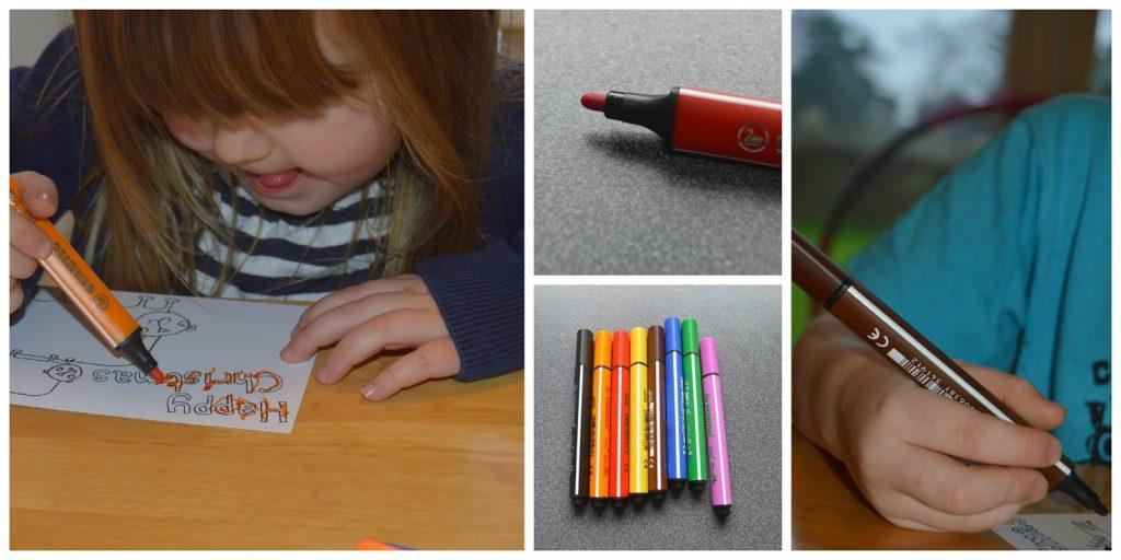 Stabilo felt tip pens