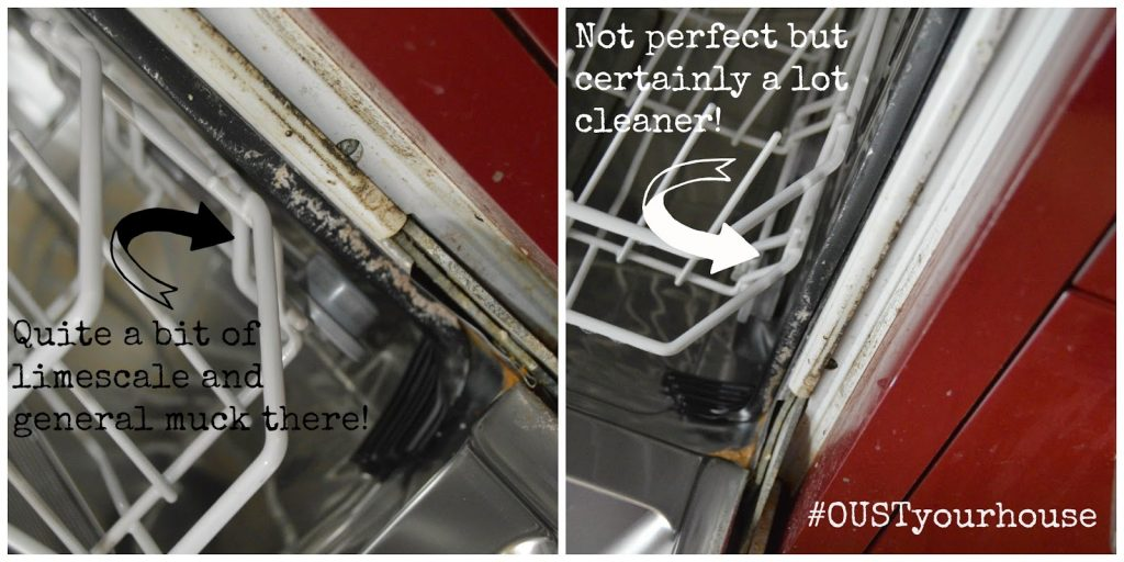 Oust dishwasher cleaner