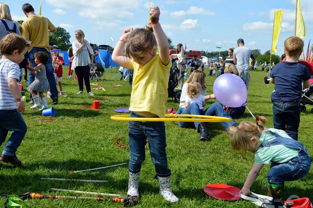 hula hooping at Geronimo Festival