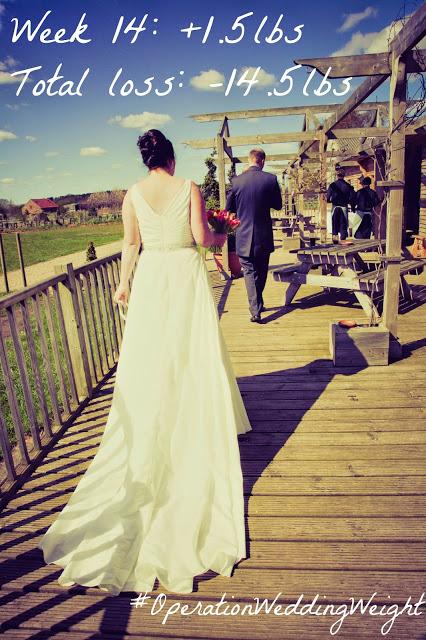 Operation Wedding Weight – Weigh in #14