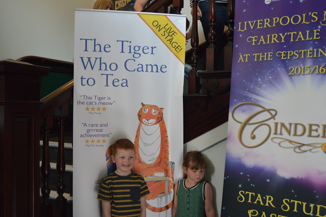 The Tiger Who Came to Tea at The Epstein Theatre