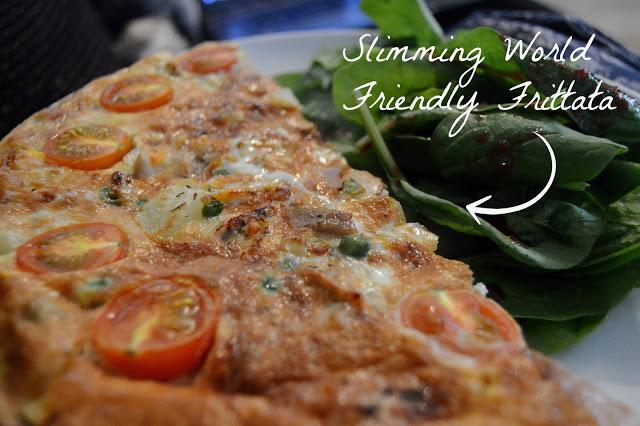 Slimming World Friendly Frittata Recipe