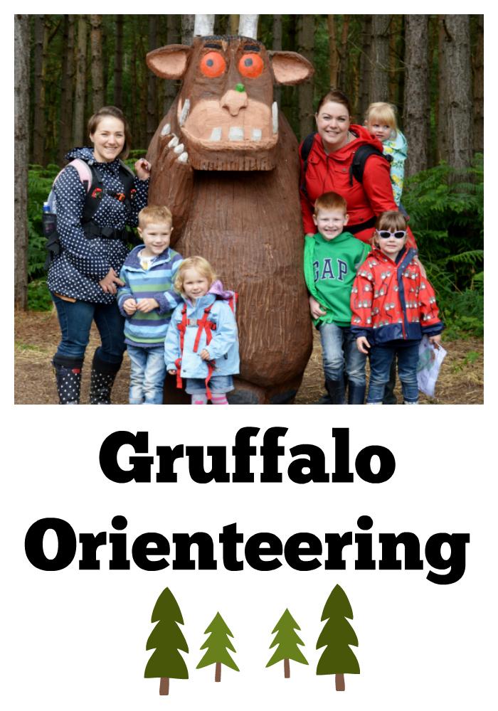 Gruffalo Orienteering in Delamere Forest