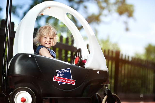 MdArthur Glen Designer Outlet, Cheshire Oaks - cars for kids