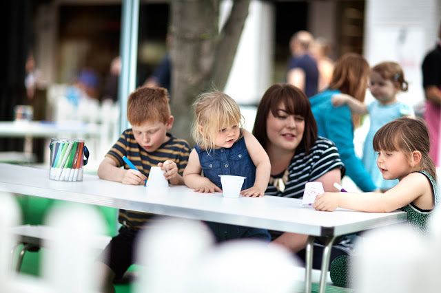 Summer holiday activities for kids at Cheshire Oaks