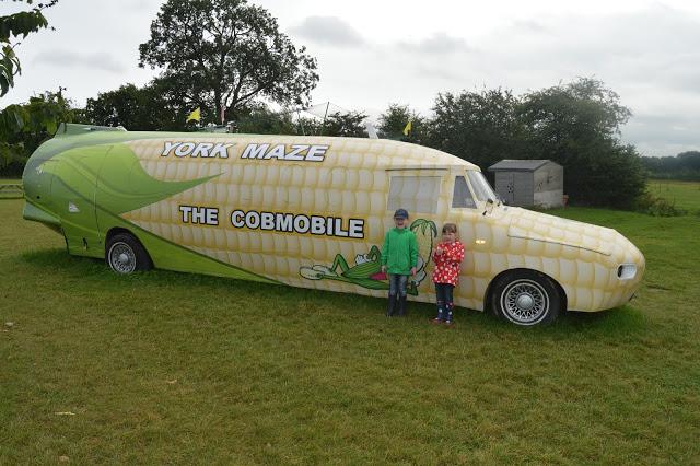 York Maze Cobmobile