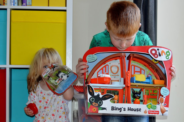 Bing house playset from Fisher Price