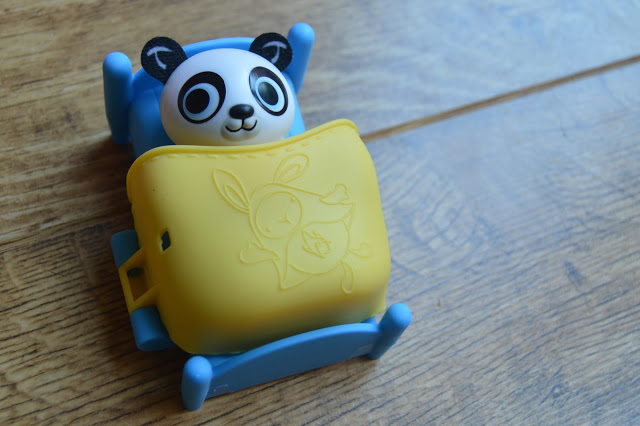 pando in bed - bing toy