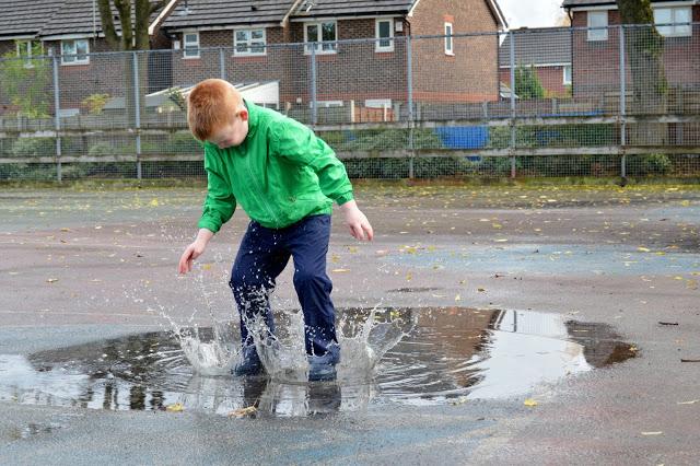 Big splash Muddy Puddles Puddlefleece Trousers