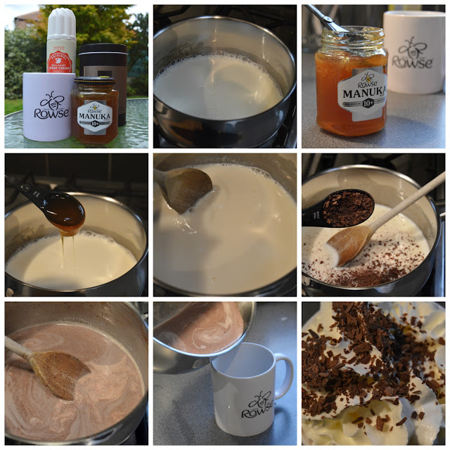 How to make hot chocolate with Rowse Manuka Honey