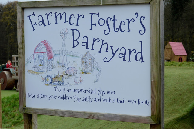 Stockeld Park Farmer Foster's play area