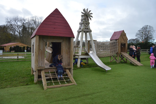 Free play area at Stockeld Park