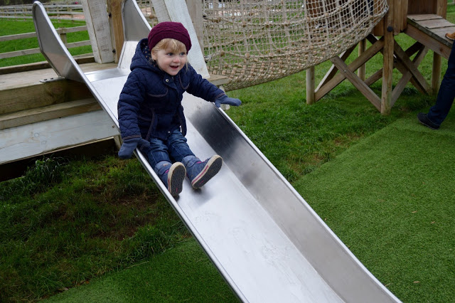Stockeld Park Christmas Adventure - outdoor play space