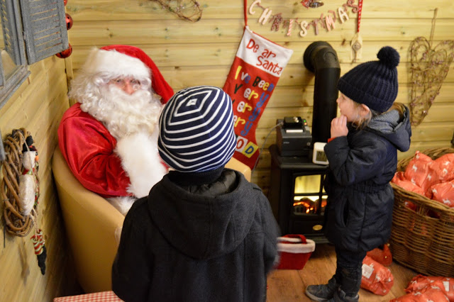 Stockeld Park Father Christmas visits