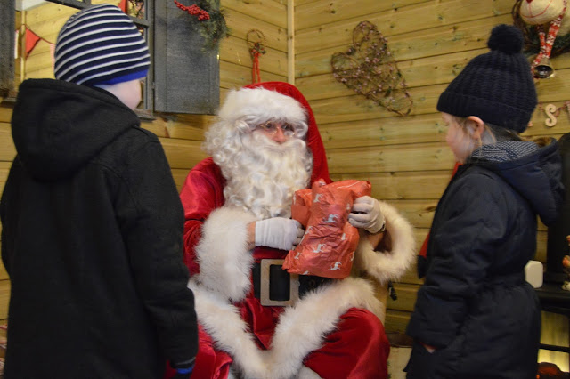 Presents from Santa at Stockeld Park