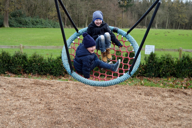 Stockeld Park Christmas Adventure - Enchanted Forest play areas