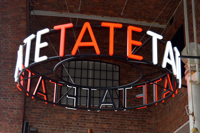 A Sunday morning at Tate Liverpool