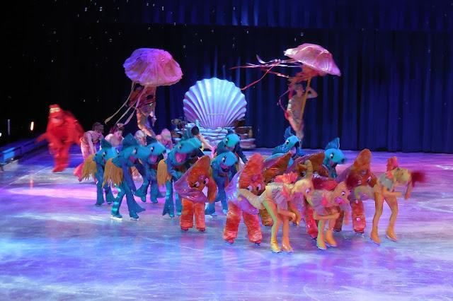 Disney on Ice - Little Mermaid scene