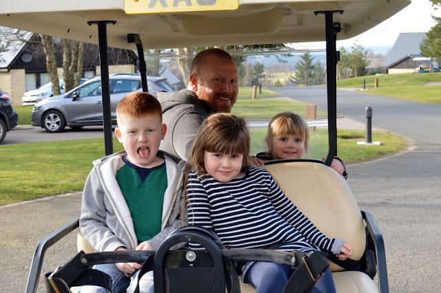 Q Lodges, Slaley Hall Hotel & Spa - Golf buggy
