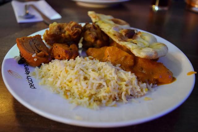 Indian food at Peachy Keens - The Printworks