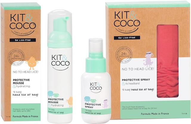 KIT & COCO head lice prevention set